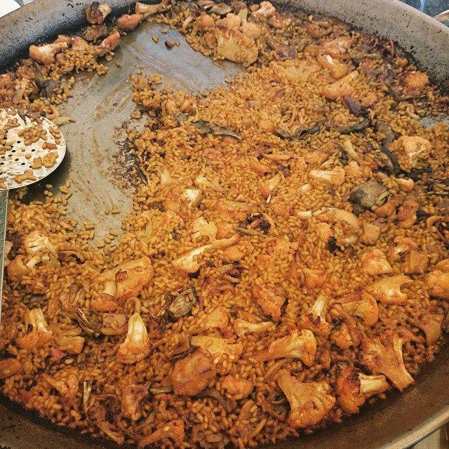 El arroz es el plato estrella en Valencia