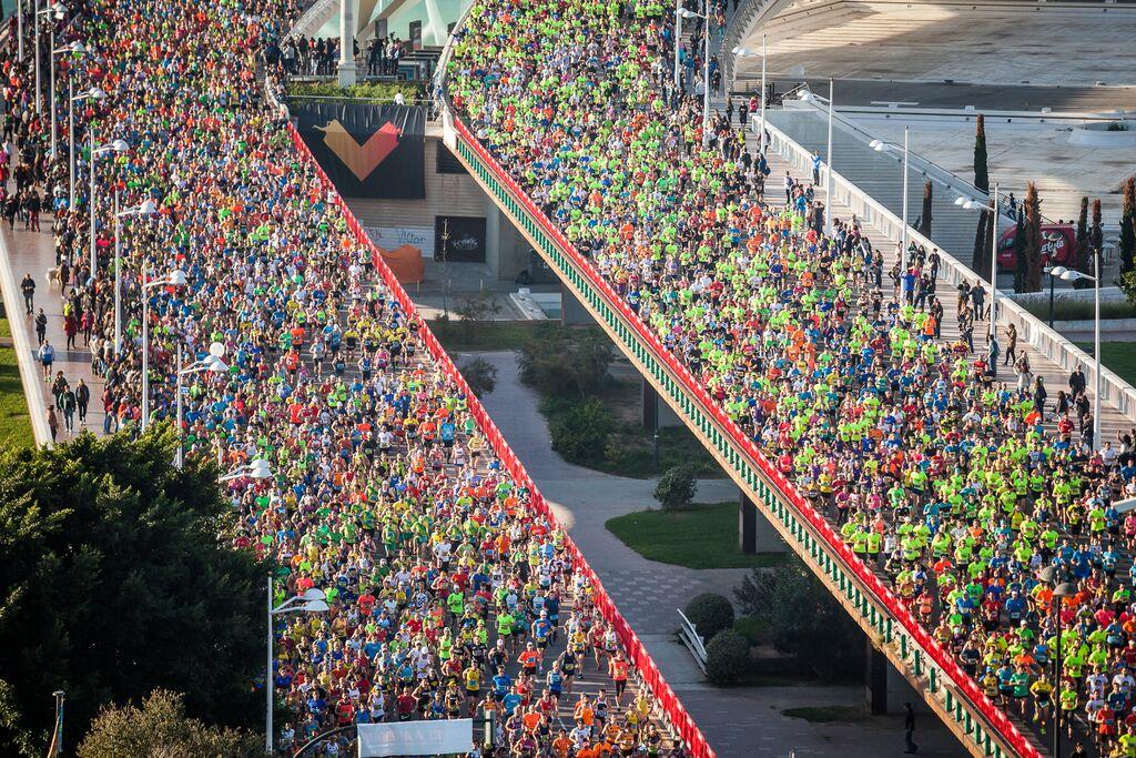 Valencia se vuelca con su Maratón