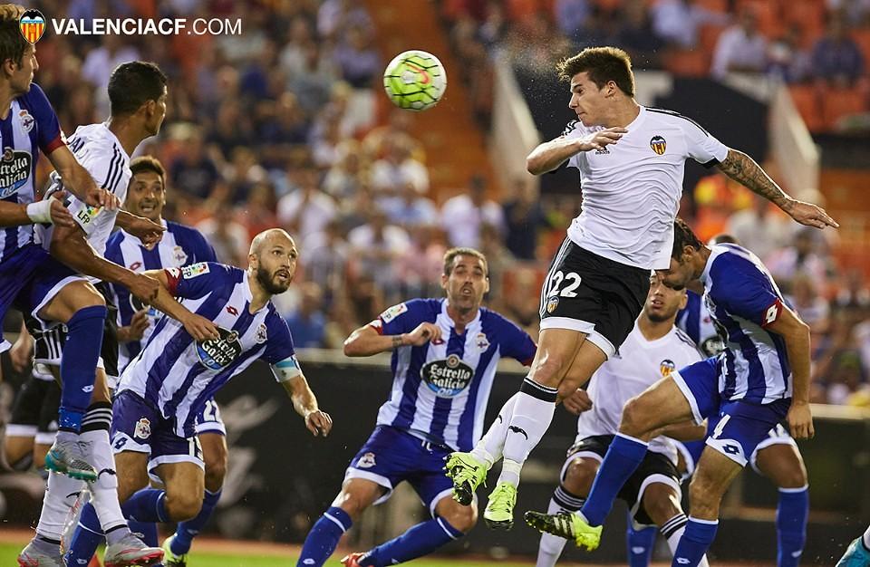 30.08.2015, Liga BBVA, Valencia CF v Deportivo. Mestalla, Valencia