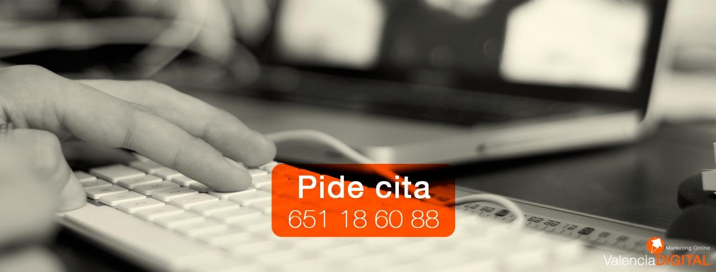 Pide cita. La Agencia de Marketing Online en Valencia que estabas buscando.