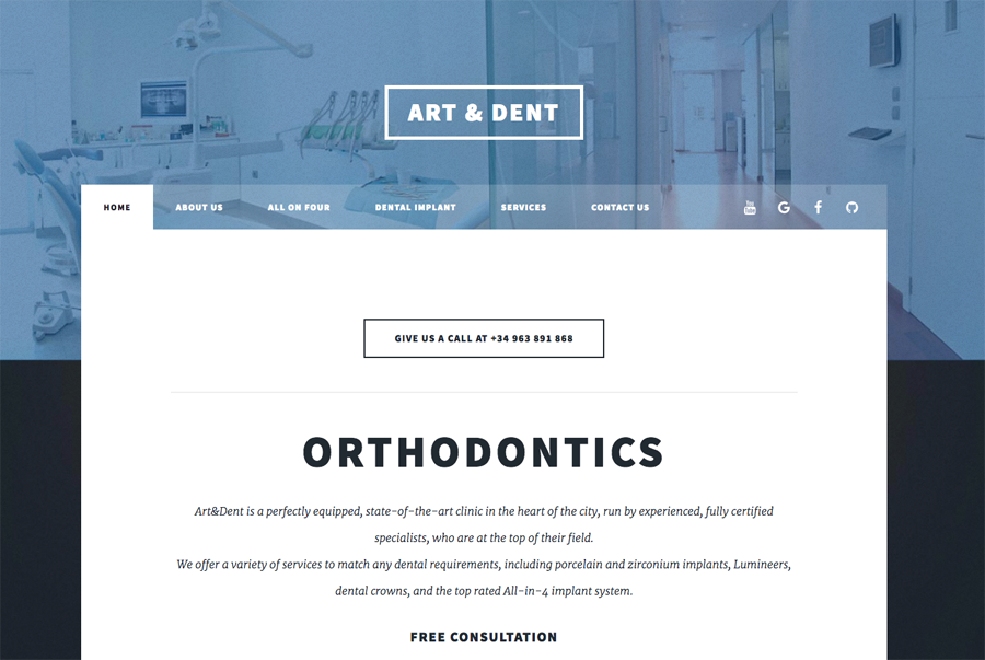 In Art & Dent are leaders in implantology.